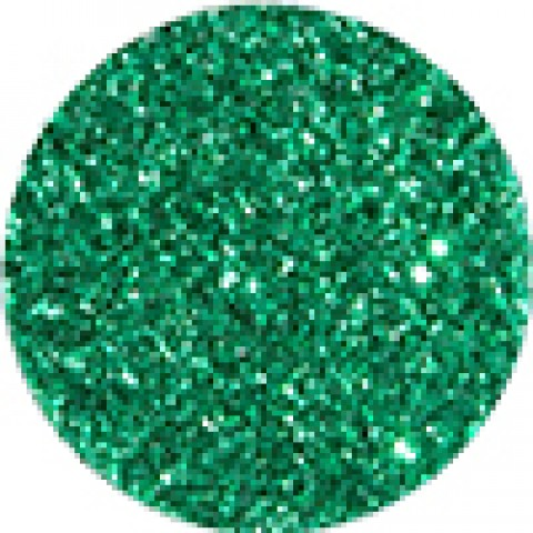 Зелёный с блёстками #726