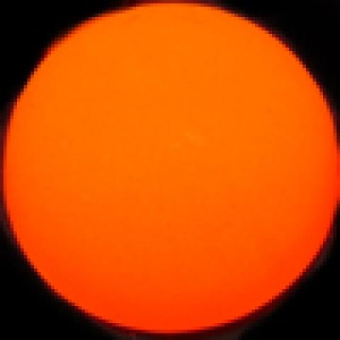 Оранжевый матовый